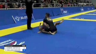 JOÃO GABRIEL BATISTA DE SOUSA vs RICHAR EMILIANO NOGUEIRA 2021 World IBJJF Jiu-Jitsu No-Gi Championship