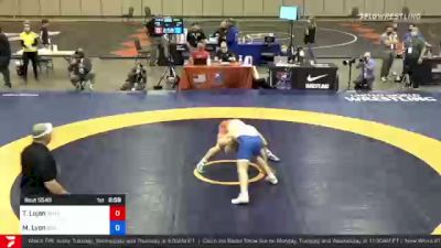 86 kg Final - Taylor Lujan, Panther Wrestling Club RTC vs Max Lyon, Boilermaker RTC
