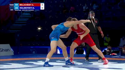 67 kg Final 3-5 - Aaron Bellscheidt, Germany vs Marian Holubovskyi, Ukraine