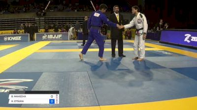 BRIAN MAHECHA vs HIROAKI OTSUKA 2018 Pan Jiu-Jitsu IBJJF Championship