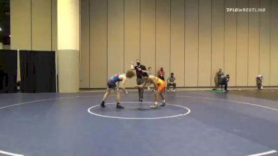 57 kg Consolation - Eddie Flores, Unattached vs Beau Bayless, New England RTC