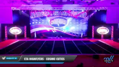 CTA Highflyers - Cosmic Cuties [2021 L1 Tiny - D2 Day 2] 2021 ACP: Midwest World Bid National Championship