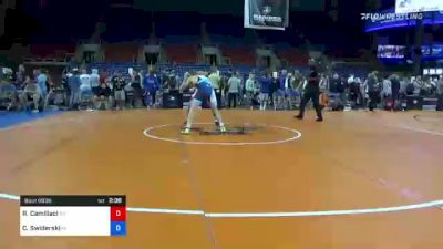 138 lbs Quarterfinal - Rocco Camillaci, New York vs Casey Swiderski, Michigan
