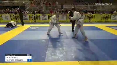 MATEO MARTINEZ vs RENZO ETHAN COOLIGAN 2021 Pan Kids Jiu-Jitsu IBJJF Championship
