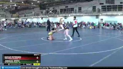 152 lbs Round 2 (4 Team) - Abbigail Smith, Killer Cheese Curds vs Kaylie Petersen, Free Range Chickens