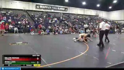135 lbs Cons. Round 7 - Dillon Roman, Colorado vs Ryan Luna, California