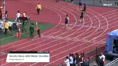 High School Boys' 400m Hurdles Varsity, Finals 2