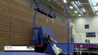 Alex Diab - Still Rings, University Of Illinois - 2021 Men's Olympic Team Prep Camp