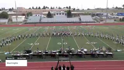 """Blue Knights """"Denver CO"""" at 2021 Drums Along the Rockies - Cheyenne Edition"""