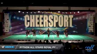 Python All Stars Royal Pythons [2021 Youth 1.1 Prep] 2021 CHEERSPORT: Atlanta Grand Championship