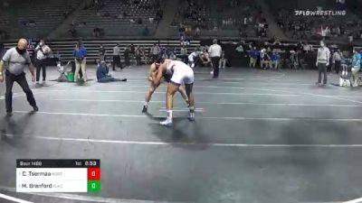 141 lbs Semifinal - Chinzorig Tsermaa, Northwest Kansas Tech vs Marckis Branford, Clackamas