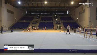 Team Russia Juniors - Floor, Official Training - 2019 City of Jesolo Trophy