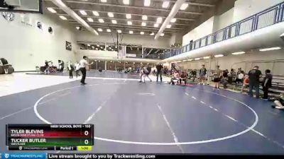 155 lbs 3rd Place Match - Tyler Blevins, Bruin Wrestling Club vs Tucker Butler, Westlake