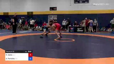 74 kg Round Of 32 - Ryan Ojeda, California vs Alec Pantaleo, Titan Mercury Wrestling Club (TMWC)