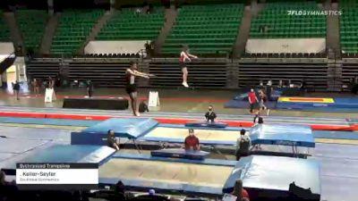 . Keller-Seyler - Sychronized Trampoline, Southlake Gymnastics - 2021 Elite Challenge