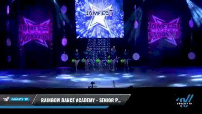 Rainbow Dance Academy - SENIOR POM [2021 Senior - Pom - Small Day 2] 2021 JAMfest: Dance Super Nationals