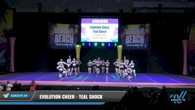 Evolution Cheer - Teal Shock [2021 L3 Senior Coed Day 2] 2021 ACDA: Reach The Beach Nationals
