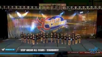 Step Ahead All-Stars - Starburst [2021 L4 Senior - D2 Day 2] 2021 South Florida DI & DII Nationals