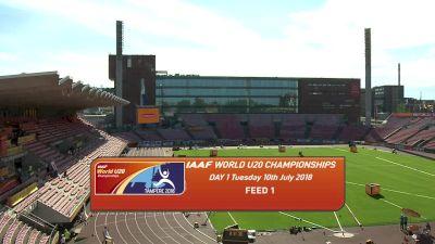 2018 IAAF World U20 Championships, Day One Morning Session