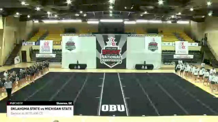 CLUB Game 2: Oklahoma State University vs Michigan State University