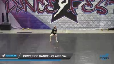 Power of Dance - Claire Vanden Heuvel [2021 Senior - Solo - Lyrical Day 2] 2021 Badger Championship & DanceFest Milwaukee