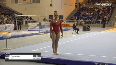 Sunisa Lee - Floor, USA - 2019 City of Jesolo Trophy