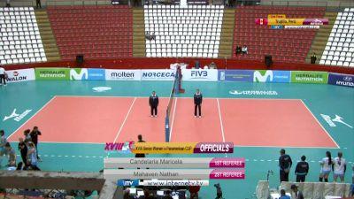 Full Replay - 2019 NORCECA Womens XVIII Pan-American Cup - Group B - Jul 9, 2019 at 3:57 PM CDT