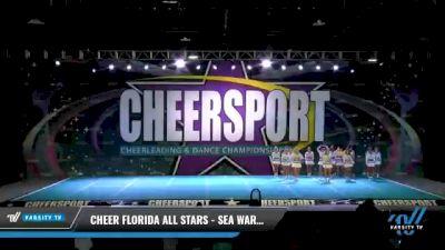 Cheer Florida All Stars - Sea Warriors [2021 L6 Senior - XSmall Day 1] 2021 CHEERSPORT National Cheerleading Championship