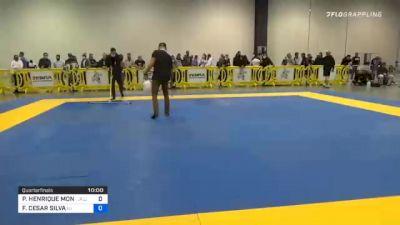 PEDRO HENRIQUE MONTEIRO PALHARES vs FELIPE CESAR SILVA 2020 IBJJF Pan No-Gi Championship