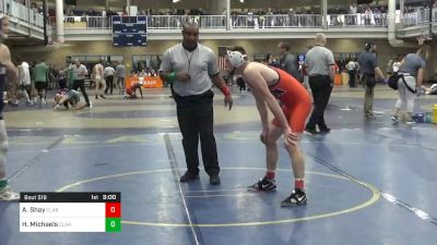 Quarterfinal - Avery Shay, Clarion-Unattached vs Hunter Michaels, Clarion