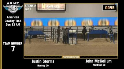 Full Replay - World Series of Team Roping Finale - WSTR (Priefert Pavillion)