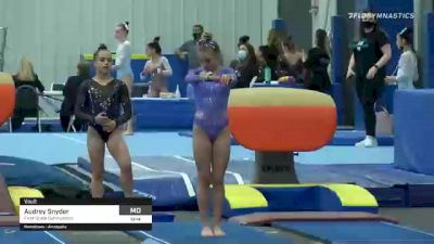 Audrey Snyder - Vault, First State Gymnastics - 2021 American Classic and Hopes Classic