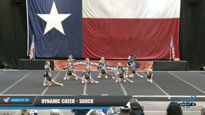 Dynamic Cheer - Shock [2021 L1.1 Youth - PREP - D2 Day 1] 2021 ACP Power Dance Nationals & TX State Championship