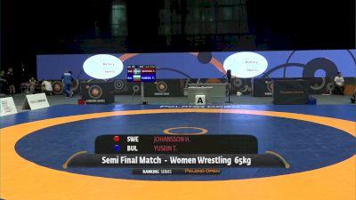 65kg Semi-Final - Henna Johansson, SWE vs Taybe Yusein, BUL