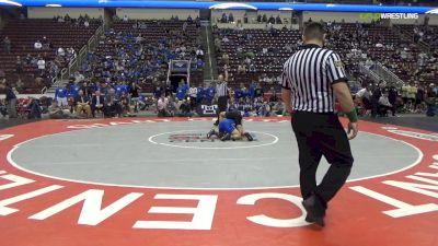145 lbs Final - Gavin Garcia, Southern Columbia Area Hs vs Alex Ischo, Reynolds Hs