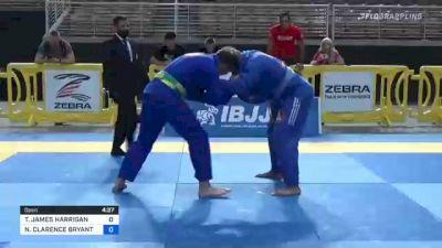 TIMOTHY JAMES HARRIGAN vs NATHANIEL CLARENCE BRYANT 2021 Pan Jiu-Jitsu IBJJF Championship