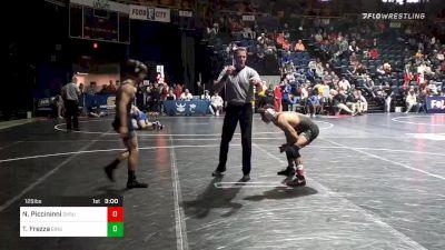 125 lbs Prelims - Nick Piccininni, Oklahoma State vs Tommaso Frezza, Binghamton