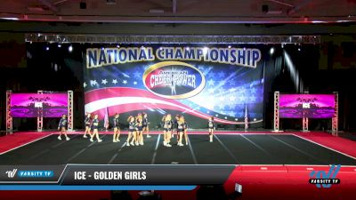 ICE - Golden Girls [2021 L6 Senior - XSmall Day 2] 2021 ACP: Midwest World Bid National Championship