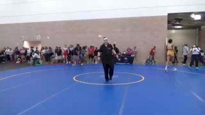 76 kg Round Of 16 - Emily Cue, CO vs Kaylynn Albrecht, TX