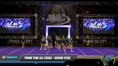 Prime Time All Stars - Senior Steel [2021 L3 Senior - Small - B Day 2] 2021 The U.S. Finals: Ocean City
