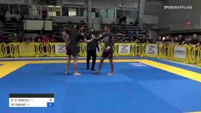 Enrique D. Galarza vs Matheus Gabriel 2021 Pan IBJJF Jiu-Jitsu No-Gi Championship