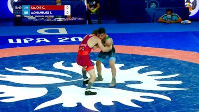 63 kg Round Of 16 - Chayse William Lajoie, USA vs Iman Hossein Mohammadi, IRI