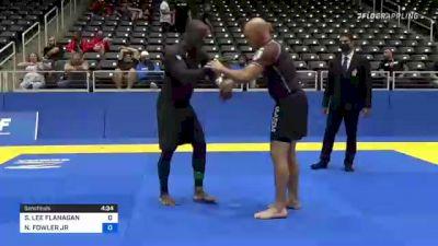 STEVEN LEE FLANAGAN vs NATHANIEL FOWLER JR 2021 World IBJJF Jiu-Jitsu No-Gi Championship