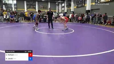 65 kg Prelims - Caleb Rathjen, Sebolt Wrestling Academy vs Adam Jacob, Central Coast Regional Training Center
