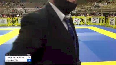 NOLAN MARK BROUSSARD vs ANTHONY MARCELO 2021 Pan Kids Jiu-Jitsu IBJJF Championship