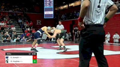 165 lbs Quarterfinal - Vincenzo Joseph, Penn State vs Drew Hughes, Michigan State