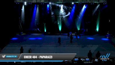 Cheer 404 - Paparazzi [2021 L1 Tiny - Novice - Restrictions Round] 2021 The U.S. Finals: Pensacola