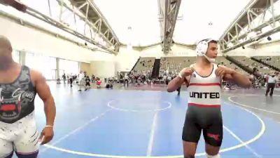 174 lbs Semifinal - Fox Maxwell, MetroWest United vs TJ Hepburn, Wolf Gang Wrestling Academy