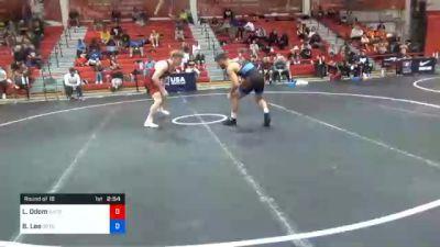 70 kg Prelims - Luke Odom, Illinois Regional Training Center/Illini WC vs Brayton Lee, Gopher Wrestling Club - RTC