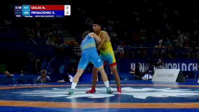 87 kg Repechage #2 - Maksat Sailau, KAZ vs Oleksandr Prymachenko, UKR